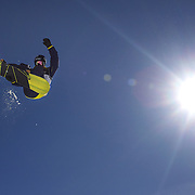 Taku Hiraoka, Japan, in action during the Men's Half Pipe Finals in the LG Snowboard FIS World Cup, during the Winter Games at Cardrona, Wanaka, New Zealand, 28th August 2011. Photo Tim Clayton....