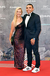 February 17, 2020, Berlin, Berlin, Deutschland: Bryan Habana mit Ehefrau Janine Viljoen bei der Verleihung der Laureus Sport for Good Awards 2020 in der Verti Music Hall. Berlin, 17.02.2020 (Credit Image: © Future-Image via ZUMA Press)