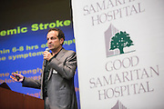 Good Samaritan Hospital hosts its Stroke Survivor Reception at the Addison-Penzak Jewish Community Center Silicon Valley in Los Gatos, California, on May 13, 2015. (Stan Olszewski/SOSKIphoto)