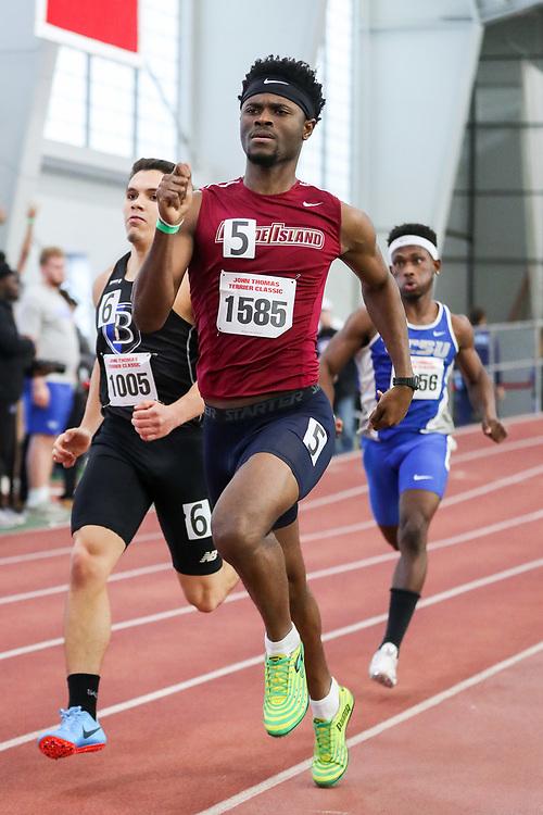 400, Rhode Island<br /> BU Terrier Indoor track meet