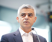 Sadiq Khan, Mayor launches a search for the first ever London Borough of Culture at a ceremony at City Hall, London, Great Britain <br /> 30th June 2017 <br /> <br /> <br /> <br /> Sadiq Khan, Mayor London <br /> <br /> <br /> <br /> <br /> Photograph by Elliott Franks <br /> Image licensed to Elliott Franks Photography Services