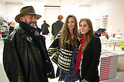 VICTOR VON BENIGSON; PRINCESS BELSIZE DOLLAR; JESSICA CHEN, Ron Arad; Restless. Cocktail reception hosted by Kate Bush of the Barbican and Tony Chambers of Wallpaper magazine. Barbican art Gallery. London. 17 September 2010