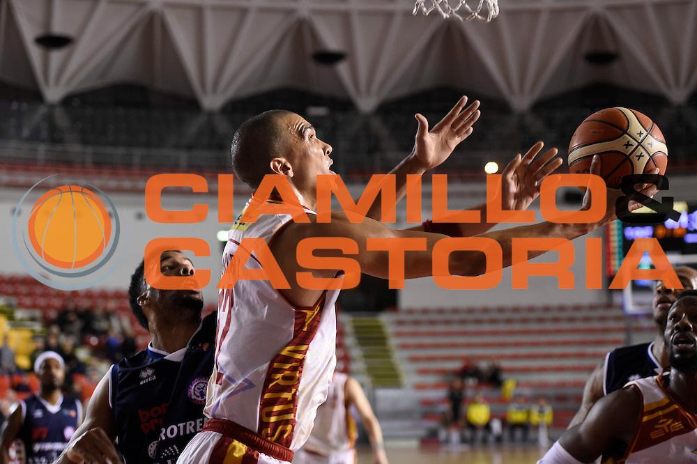 Daniele Sandri<br /> Unicusano Roma - Angelico Biella<br /> Campionato Basket LNP 2016/2017<br /> Roma 29/01/2017<br /> Foto Ciamillo-Castoria