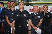 DESCRIZIONE : Cagliari Torneo Internazionale Sardegna a canestro Italia Inghilterra <br /> GIOCATORE : Carlo Recalcati Staff Tecnico <br /> SQUADRA : Nazionale Italia Uomini <br /> EVENTO : Raduno Collegiale Nazionale Maschile <br /> GARA : Italia Inghilterra Italy Great Britain <br /> DATA : 15/08/2008 <br /> CATEGORIA : Ritratto <br /> SPORT : Pallacanestro <br /> AUTORE : Agenzia Ciamillo-Castoria/S.Silvestri <br /> Galleria : Fip Nazionali 2008 <br /> Fotonotizia : Cagliari Torneo Internazionale Sardegna a canestro Italia Inghilterra <br /> Predefinita :