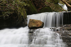 Gorge trip with Coyle to Secret Falls, Wednesday, April 15, 2015 at Indian Creek in Red River Gorge.