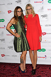 Specsavers Awards. <br /> (L-R) Mel C & Donna Air attends the Specsavers Awards, held at the Royal Opera House, Covent garden, London, United Kingdom. Tuesday, 10th September 2013. Picture by Chris Joseph / i-Images