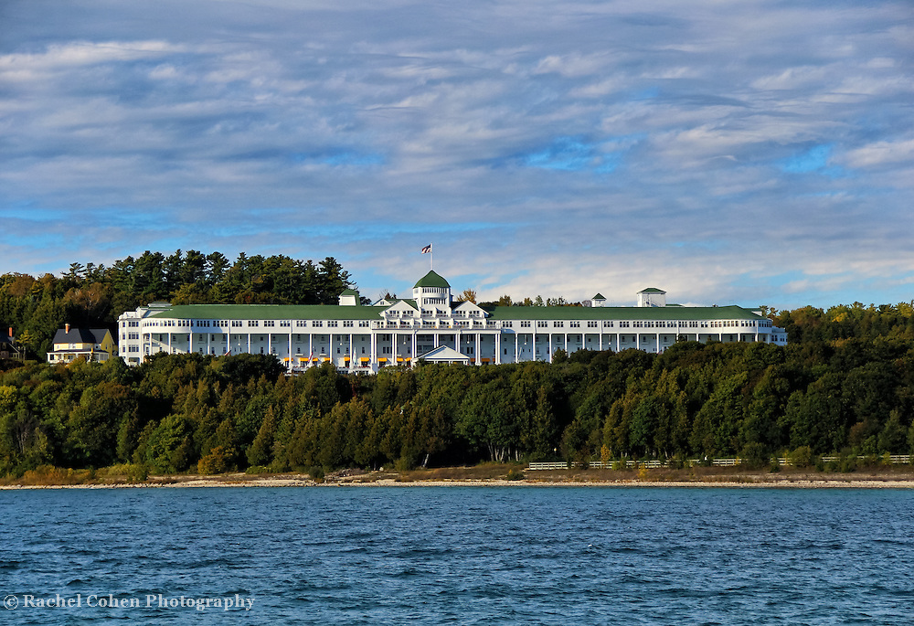&quot;Grand Hotel&quot;<br /> <br /> Scenic Grand Hotel on Mackinac Island, Michigan!!<br /> <br /> Architecture: Structures and buildings by Rachel Cohen