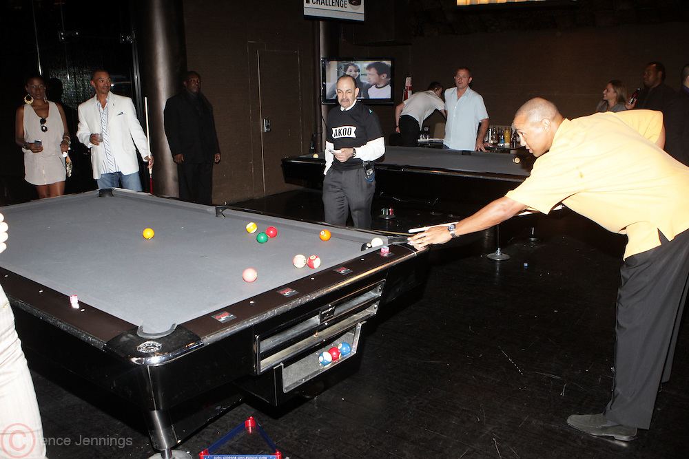 3 June 2010-New York, NY -John Starks at The 2nd Annual Tuck's Celebrity Billards Tournament, benefitting Tuck's R.U.S.H for Literacy held at Slate NYC on June 3, 2010 in New York City.