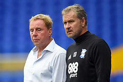 Birmingham City manager Harry Redknapp (left) and assistant manager Kevin Bond