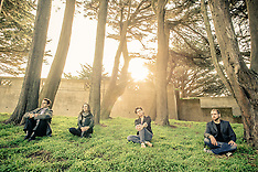 Ash Thursday Artist and Band Photos on Location in San Francisco