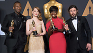 89th Oscars - WINNERS - Backstage
