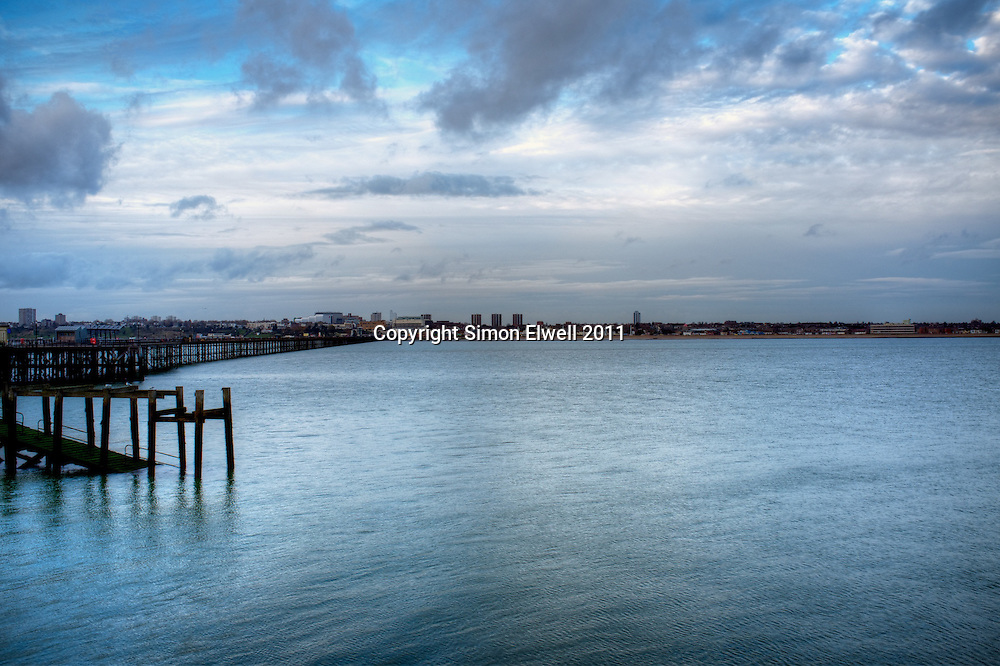 Southend on Sea in December