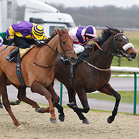 Royal Peculiar and A Mullen winning the 3.00 race