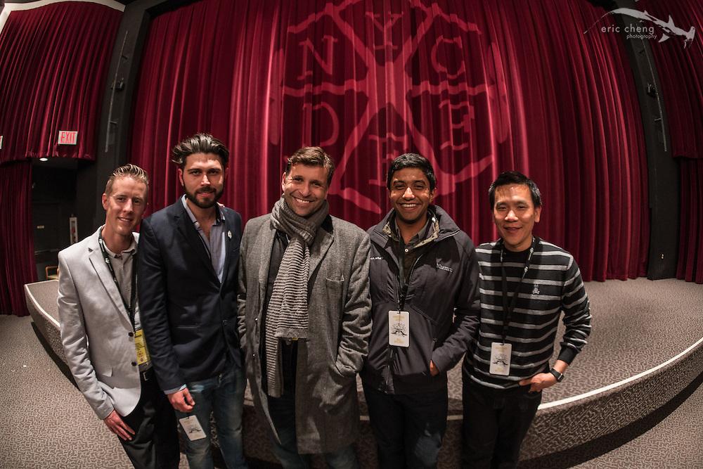 Philip Bloom, Radley Angelo, Eric Cheng; New York City Drone Film Festival 2016