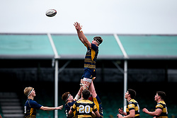 Harry Smith of Worcester Warriors U18 - Mandatory by-line: Robbie Stephenson/JMP - 28/12/2019 - RUGBY - Sixways Stadium - Worcester, England - Worcester Warriors U18 v Wasps U18 - Premiership U18 Academy