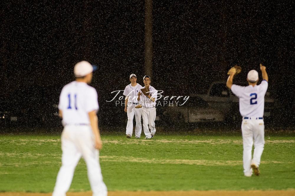 April 11, 2014.  <br /> MCHS Varsity Baseball vs William Monroe.