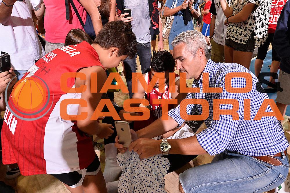 Alessandro Gentile <br /> EA7 Emporio Armani Olimpia Milano - Legnano Knights <br /> Lega Basket Serie A 2016/2017<br /> Bormio 28/08/2016<br /> Foto Ciamillo-Castoria