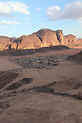 Jordan, Wadi Rum (also known as The Valley of the Moon) A sandstone valley in southern Jordan