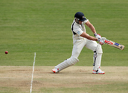Middlesex's Nick Compton snicks one behind - Photo mandatory by-line: Robbie Stephenson/JMP - Mobile: 07966 386802 - 04/05/2015 - SPORT - Football - London - Lords  - Middlesex CCC v Durham CCC - County Championship Division One