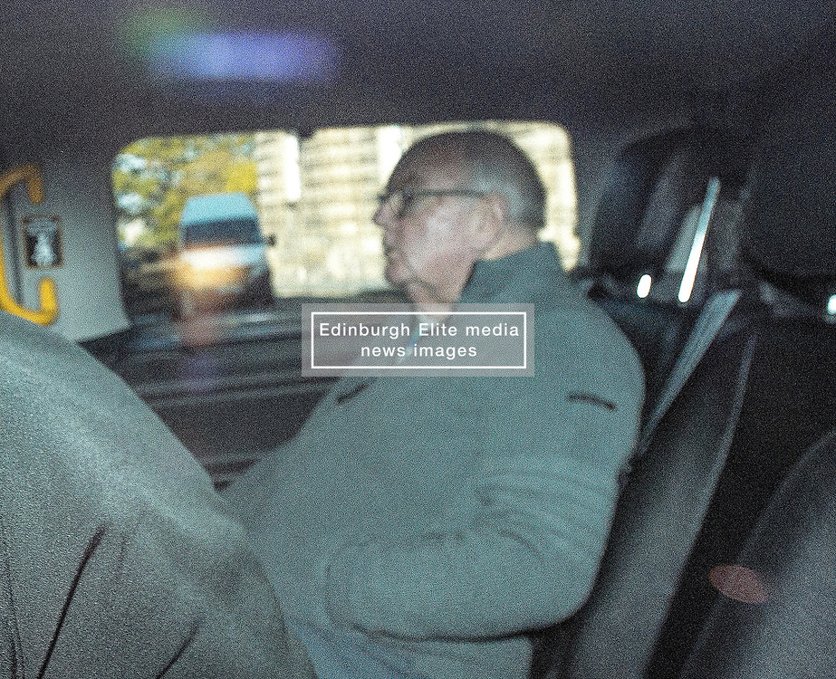 Pictured: McCafferty arrives at Court in a prison van.<br /> <br /> Former Celtic kitman James McCafferty appeared at the High Court in Edinburgh on a series of child sexual abuse charges.<br /> <br /> © Dave Johnston / EEm