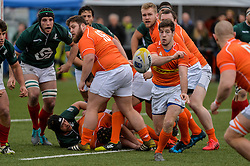 March 4, 2017 - Amsterdam, Netherlands - Rik Roovers of the Netherlands during the Rugby Europe Trophy match between the Netherlands and Portugal at the National Rugby Centre Amsterdam on March 04, 2017 in Amsterdam, Netherlands  (Credit Image: © Andy Astfalck/NurPhoto via ZUMA Press)