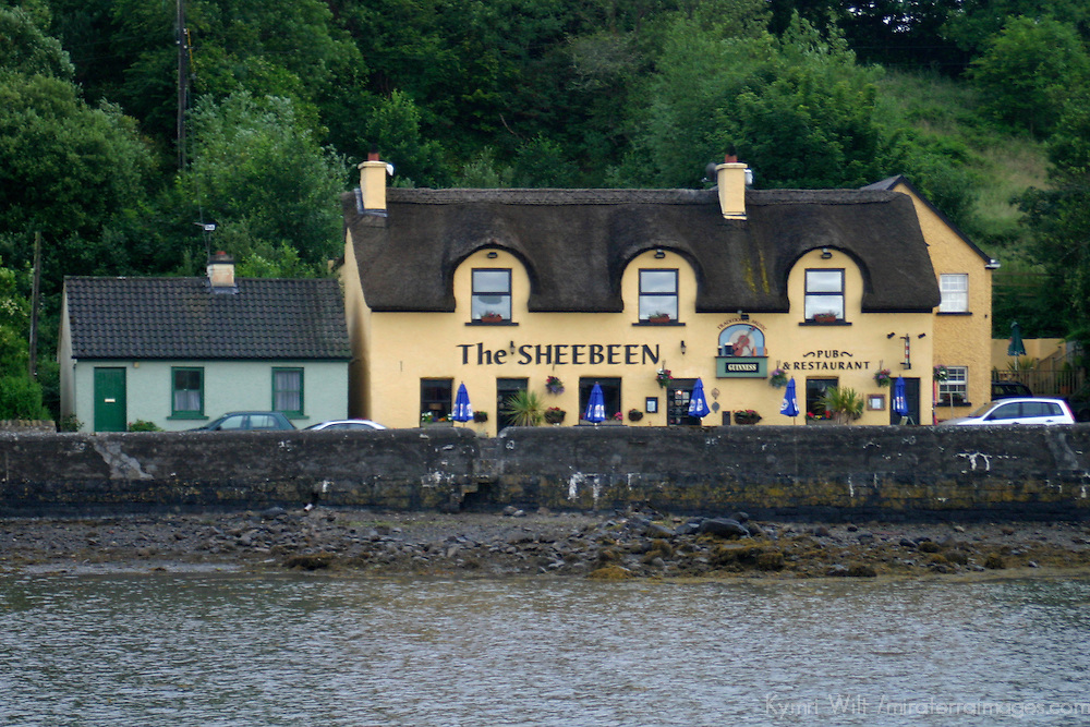 Europe, Ireland, Westport. The Sheebeen Pub, Westport.