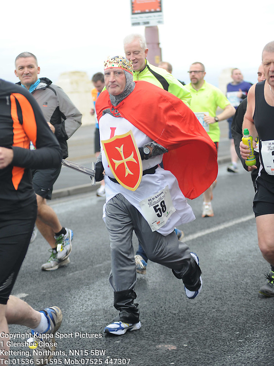 Damian Carr, Blackpool Marathon Sunday 6th April 2014
