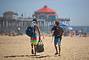 A Day At The Beach In Huntington