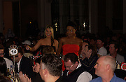 Sugarbabes: Keishi Buchanan and Heidi Range, The Q Awards 2004, Grosvenor House, London. 4 October 2004. ONE TIME USE ONLY - DO NOT ARCHIVE  © Copyright Photograph by Dafydd Jones 66 Stockwell Park Rd. London SW9 0DA Tel 020 7733 0108 www.dafjones.com