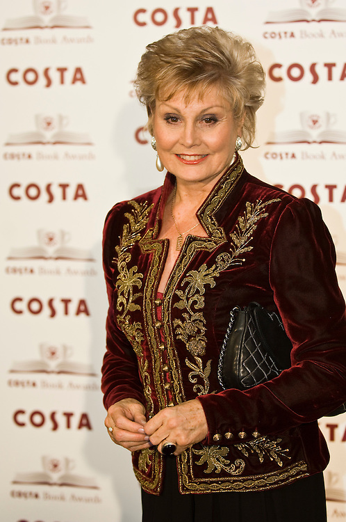 LONDON - JANUARY 22: Angela Rippon arrives at the 2007 Costa Book Awards at the The Intercontinental Hotel on January 22, 2008 in London, England.