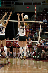 25 September 2004         Illinois State University Redbirds V University of Northern Iowa Panthers Volleyball.  Redbird Arena, Illinois State University, Normal IL