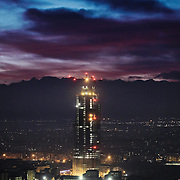 Torre Regione Piemonte, futura sede della Regione Piemonte nel quartiere Lingotto. Torino 9 gennaio 2015