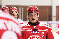 2019-01-24 | Ljungby, Sweden: Troja-Ljungby (33) Daniel Karlsson during the game between IF Troja / Ljungby and Visby / Roma HK at Ljungby Arena ( Photo by: Fredrik Sten | Swe Press Photo )<br /> <br /> Keywords: Icehockey, Ljungby, HockeyEttan, Ljungby Arena, IF Troja / Ljungby, Visby / Roma HK, AllEttan Södra