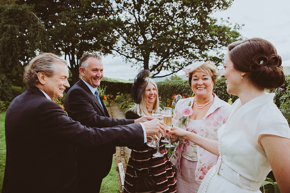 Charlotte & George's Wedding, Ceremony at The Craigmar in Hebden & Reception at Burnsall Village Hall, 5th September 2015