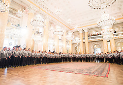 24.01.2018, Hofburg, Wien, Pyeongchang 2018, Vereidigung der Olympia-Mannschaft durch den Bundespräsidenten, im Bild Übersicht // Overview during the swearing-in of the Austrian National Olympic Committee for Pyeongchang 2018 at Hofburg in Vienna, Austria on 2018/01/24, EXPA Pictures © 2018 PhotoCredit: EXPA/ Michael Gruber