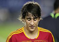 Fussball International U17 WM  Halbfinale  Spanien 2-1 Ghana Spain 2-1 Ghana Bojan (ESP) enttaeuscht
