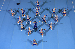 Wild Spirit Allstars, UK during Mixed senior at second day of European Cheerleading Championship 2008, on July 6, 2008, in Arena Tivoli, Ljubljana, Slovenia. (Photo by Vid Ponikvar / Sportal Images).