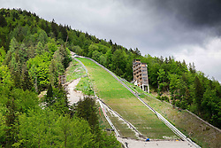 Reconstruction of Flying Hill in Planica, on May 14, 2014 in Planica, Slovenia. Photo by Vid Ponikvar / Sportida