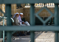 Sheltering from the sun in Nazareth