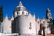 MEXICO, COLONIAL CITIES Atotonilco Sanctuary near San Miguel de Allende, 1810 revolutionary site, now pilgrimage destination