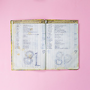 A daily record book of the sex workers in Barbara's which all is under pseudonym. The price for having sex in Barbara was the most expensive around Dolly. It was ranging from about US$25 to US$35. However, the sex workers only retained less than half of that amount.