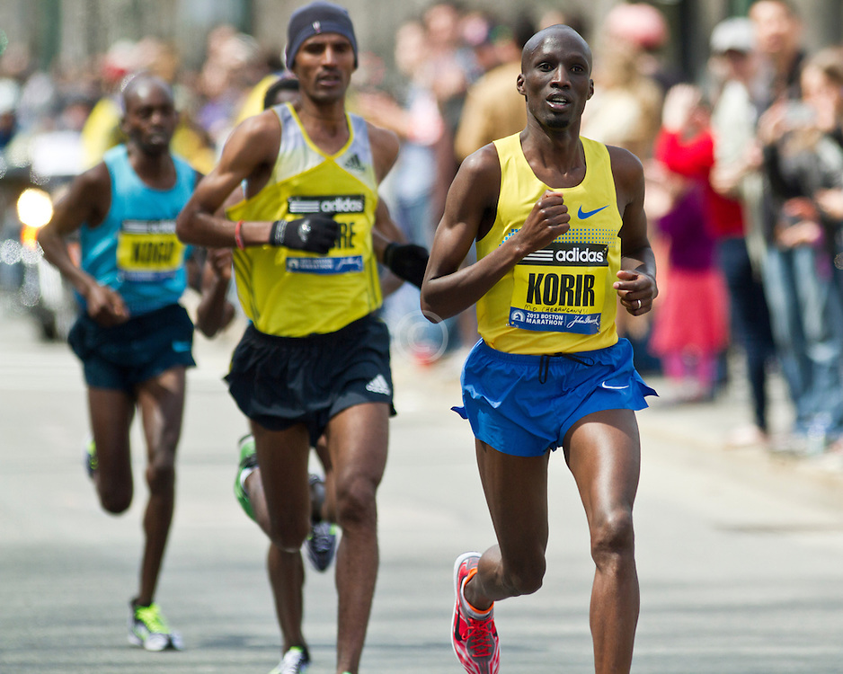 2013 Boston Marathon: Wesley Korir