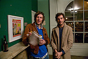 HENRY HUDSON AND HENRY HEMMING, In Pieces. Christopher Landoni 1972-2005. curated by Philly Adams in support of Noah Landoni. 39 Myddelton Square. London EC1. 10 April 2008 *** Local Caption *** -DO NOT ARCHIVE-© Copyright Photograph by Dafydd Jones. 248 Clapham Rd. London SW9 0PZ. Tel 0207 820 0771. www.dafjones.com.