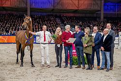 159, My Favorite<br /> KWPN hengstenkeuring - 's Hertogenbosch 2020<br /> © Hippo Foto - Dirk Caremans<br /> 30/01/2020