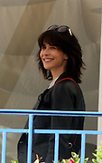 CANNES FILM FESTIVAL JURY ARRIVAL DINNER<br /> <br /> May 12, 2015 Terrace of the Hotel Martinez Cannes Jury al apero .12 May 2015 Terrace of the Hotel Martinez Cannes Jury al aperitif festival. Sophie Marceau, Rossy de Palmas<br /> ©Exclusivepix Media
