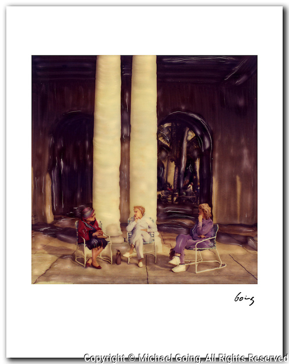 Three Women Breakers Hotel, Palm Beach 1983. 11x14 signed archival pigment print free shipping USA