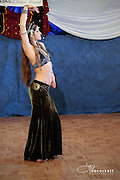 A dancer performs at The Badass Bellydance 2013 Festival in Santa Maria California