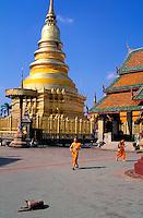 Thailande - Lamphun Province - Wat Phra That Hariphunchaï