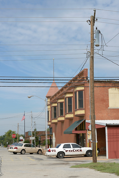 Apache,Small Town,Caddo County, Great Plains,Oklahoma, USA..