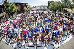Riders at start before cycling race 48th Grand Prix of Kranj 2016 / Memorial of Filip Majcen, on July 31, 2016 in Kranj centre, Slovenia. Photo by Vid Ponikvar / Sportida